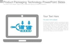 Product Packaging Technology Powerpoint Slides