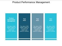 Product Performance Management Ppt PowerPoint Presentation Slides Graphics Download Cpb