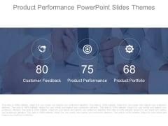 Product Performance Powerpoint Slides Themes