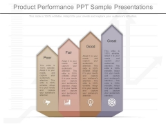 Product Performance Ppt Sample Presentations