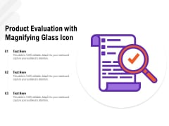Product Performance Review Vector Icon Ppt PowerPoint Presentation Pictures Examples