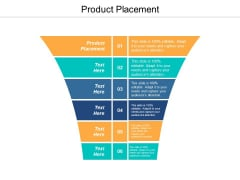 Product Placement Ppt PowerPoint Presentation Layouts Visuals Cpb