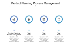 Product Planning Process Management Ppt PowerPoint Presentation Pictures Example Cpb