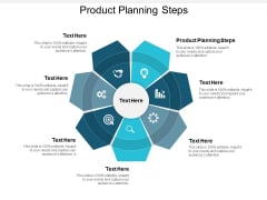 Product Planning Steps Ppt PowerPoint Presentation Model Slide Download Cpb
