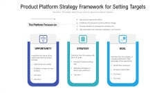 Product Platform Strategy Framework For Setting Targets Guidelines PDF