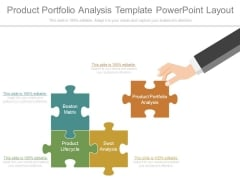Product Portfolio Analysis Template Powerpoint Layout