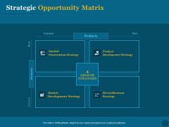 Product Portfolio Management For New Product Development Strategic Opportunity Matrix Introduction PDF