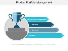 Product Portfolio Management Ppt PowerPoint Presentation Styles Objects Cpb