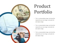 Product Portfolio Template 1 Ppt PowerPoint Presentation File Graphics Design
