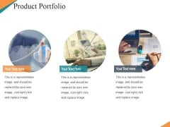 Product Portfolio Template 1 Ppt PowerPoint Presentation Model Tips