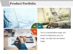 Product Portfolio Template 2 Ppt PowerPoint Presentation Portfolio Clipart Images
