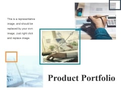 Product Portfolio Template 2 Ppt PowerPoint Presentation Portfolio Design Templates