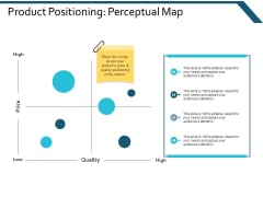 Product Positioning Perceptual Map Ppt Powerpoint Presentation Layouts Design Templates