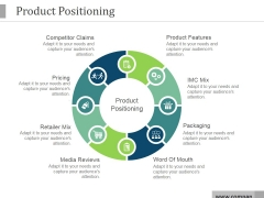 Product Positioning Ppt PowerPoint Presentation Background Designs