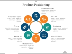 Product Positioning Ppt PowerPoint Presentation Infographic Template Backgrounds