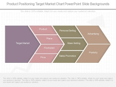Product Positioning Target Market Chart Powerpoint Slide Backgrounds