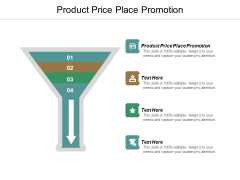Product Price Place Promotion Ppt PowerPoint Presentation Pictures Grid