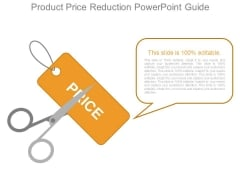 Product Price Reduction Powerpoint Guide