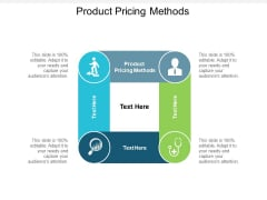 Product Pricing Methods Ppt PowerPoint Presentation Ideas Samples Cpb