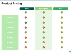 Product Pricing Ppt PowerPoint Presentation Infographics Infographics