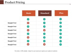 Product Pricing Ppt PowerPoint Presentation Outline Layout Ideas