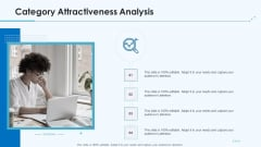 Product Pricing Strategies Category Attractiveness Analysis Ppt Ideas Sample PDF