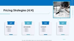 Product Pricing Strategies Pricing Strategies Ultimate Ppt File Graphics Download PDF