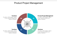 Product Project Management Ppt PowerPoint Presentation Slides Topics Cpb