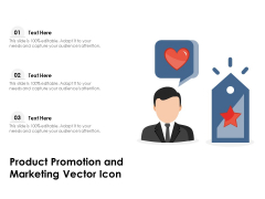 Product Promotion And Marketing Vector Icon Ppt PowerPoint Presentation Styles Summary PDF