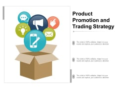 Product Promotion And Trading Strategy Ppt Powerpoint Presentation Summary Background Images