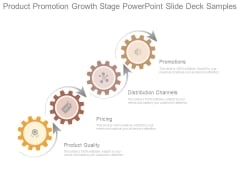 Product Promotion Growth Stage Powerpoint Slide Deck Samples
