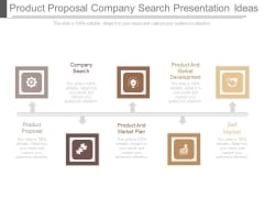 Product Proposal Company Search Presentation Ideas