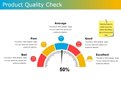 Product Quality Check Ppt PowerPoint Presentation File Graphic Tips