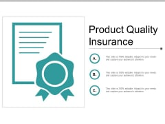 Product Quality Insurance Ppt PowerPoint Presentation Icon Sample