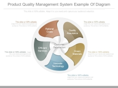 Product Quality Management System Example Of Diagram