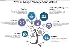 Product Range Management Metrics Ppt PowerPoint Presentation Deck