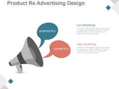 Product Re Advertising Design Ppt PowerPoint Presentation Example 2015