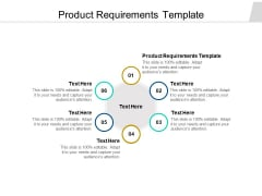 Product Requirements Template Ppt PowerPoint Presentation Professional Show Cpb Pdf