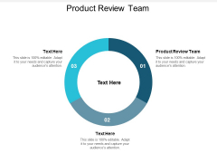 Product Review Team Ppt PowerPoint Presentation Inspiration Styles Cpb