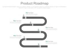 Product Roadmap Business Achievement Ppt Slides