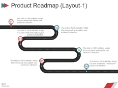 Product Roadmap Layout1 Ppt PowerPoint Presentation File Layouts