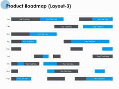 Product Roadmap Layout 3 Ppt PowerPoint Presentation Summary Design Templates