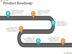 Product Roadmap Ppt PowerPoint Presentation File Icon