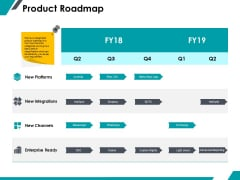 Product Roadmap Ppt PowerPoint Presentation Icon Influencers