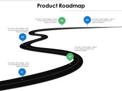 Product Roadmap Ppt PowerPoint Presentation Icon Slide Portrait