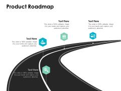 Product Roadmap Ppt PowerPoint Presentation Ideas Mockup