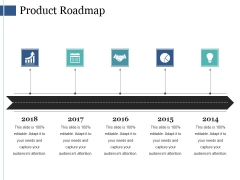 Product Roadmap Ppt PowerPoint Presentation Infographic Template Information