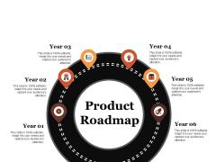 Product Roadmap Ppt PowerPoint Presentation Slides Designs Download