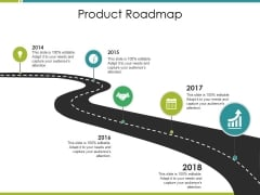 Product Roadmap Ppt PowerPoint Presentation Slides Influencers