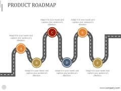 Product Roadmap Ppt PowerPoint Presentation Slides
